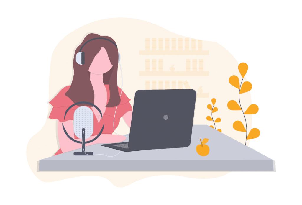 implementación de un podcast